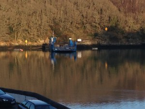 King Harry Ferry from the Trelissick side